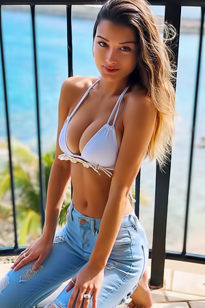 'Hot Fitness Model' with Keilah Kang via Mr Skin